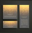 luxury light sparkle banner card design in