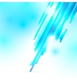 Abstract blue and white shiny background vector image vector image