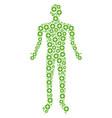 create person figure vector image
