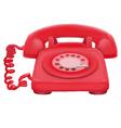 pastel classic telephone vector image