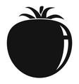 tomato food icon simple style vector image vector image