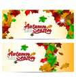 Autumn season abstract background vector image vector image