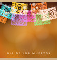 dia de los muertos day of the dead or halloween vector image vector image