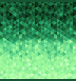 green crystals background vector image