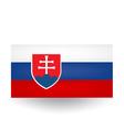Slovak Flag vector image