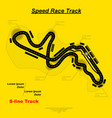 speed race background vector image