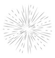 star burst element vector image