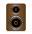 Audio speaker icon vector image vector image