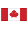 canada flag symbol icon design vector image
