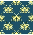 Dainty floral seamless pattern vector image