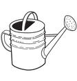 Large garden watering can vector image vector image