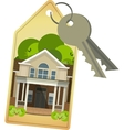 house keys vector image