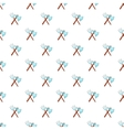 Axe and pitchfork pattern cartoon style vector image vector image