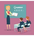 Children s Grammar Teaching vector image