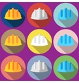 construction helmet Flat vector image vector image