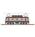 Electric Locomotive vector image vector image