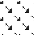Jackhammer icon in black style isolated on white vector image vector image