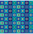 jewish stars checkerboard background pattern vector image vector image