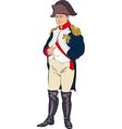 Napoleon Bonaparte vector image vector image