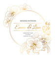phalaenopsis orchid flowers border frame vector image vector image
