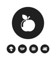 set of 5 editable cookware icons includes symbols vector image vector image