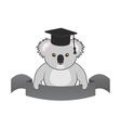 student koala vector image vector image