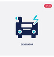 Two color generator icon from astronomy concept