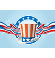 fourth of july emblem vector image