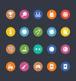 Glyphs Colored Icons 47 vector image