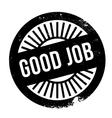 Good job stamp vector image vector image