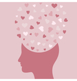 Love head vector | Price: 1 Credit (USD $1)