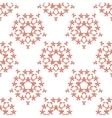 orange brick colored birds pattern vector image