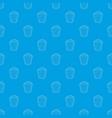 popcorn pattern seamless blue vector image vector image