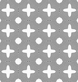 Slim gray four foils with offset merging vector image vector image