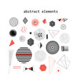 abstract elements vector image vector image