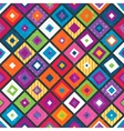 Abstract seamless background with squares vector image
