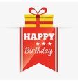 birthday invitation design vector image