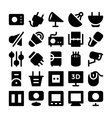 Electronics icons 10 vector image vector image