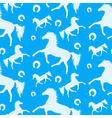Horses Pattern 2 vector image
