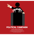 Political Campaign vector image vector image