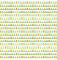 easter tulip stripe vector image vector image