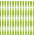 seamless pattern with green apples on white vector image