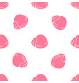 simple pattern with shells vector image