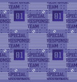 special response team seamless pattern vector image vector image