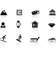Switzerland symbols vector image vector image