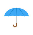 umbrella icon isolated beach protection parasol vector image
