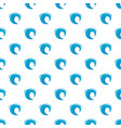 wave blue pattern seamless vector image vector image