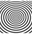 Striped black and white optical vector image
