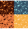Beer Patterns vector image vector image