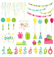 Birthday and Party Set